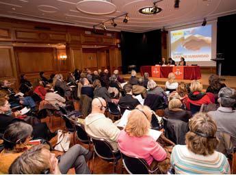 Training seminar on Holocaust teaching support material in Madrid (September 2008).